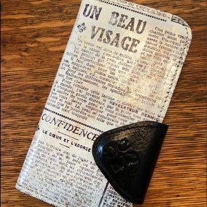 Patricia Nash I phone Wallet Case